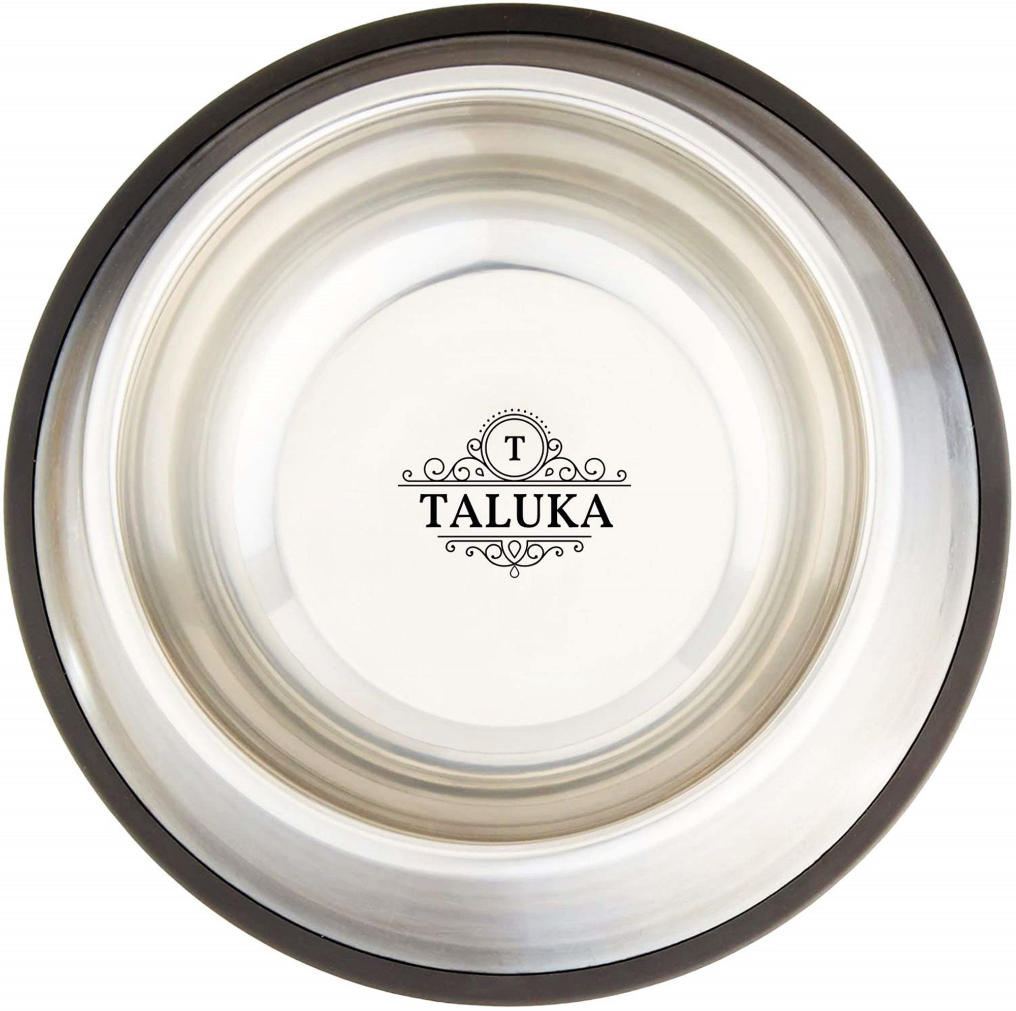 Taluka Pet Feeding Bowls for Dogs- Set of 3, 500 ML + 700 ML + 1000 ML, with Anti Skid Ring