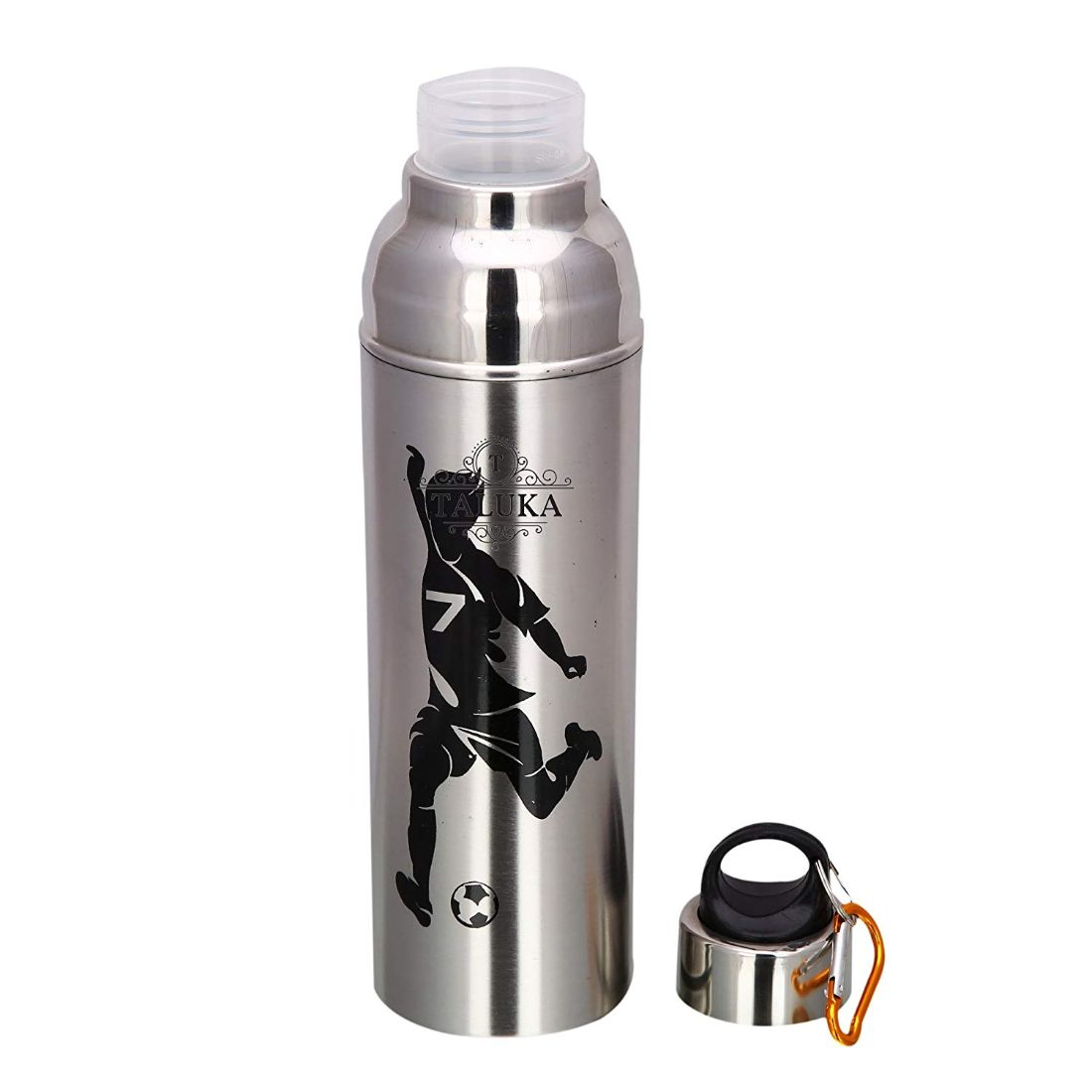 Stainless Steel Copper Jug 2000 ML For Drinking Water With 1 PC Steel Bottle Water Storage Pack Of 2