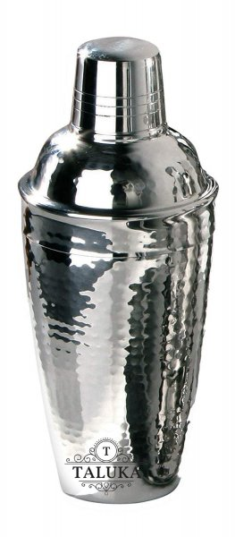 Stainless Steel Hammered Cocktail Shaker, Mock Tail Shaker, Drink Mixer Use for Drink Mixer, Bar ware 750 ML