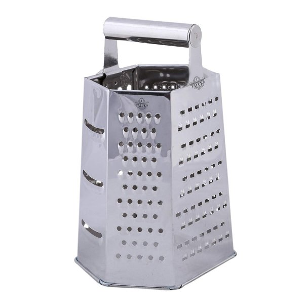 Stainless Steel Multi-Purpose 6 in 1 Grater and Slicer For Kitchen Tools