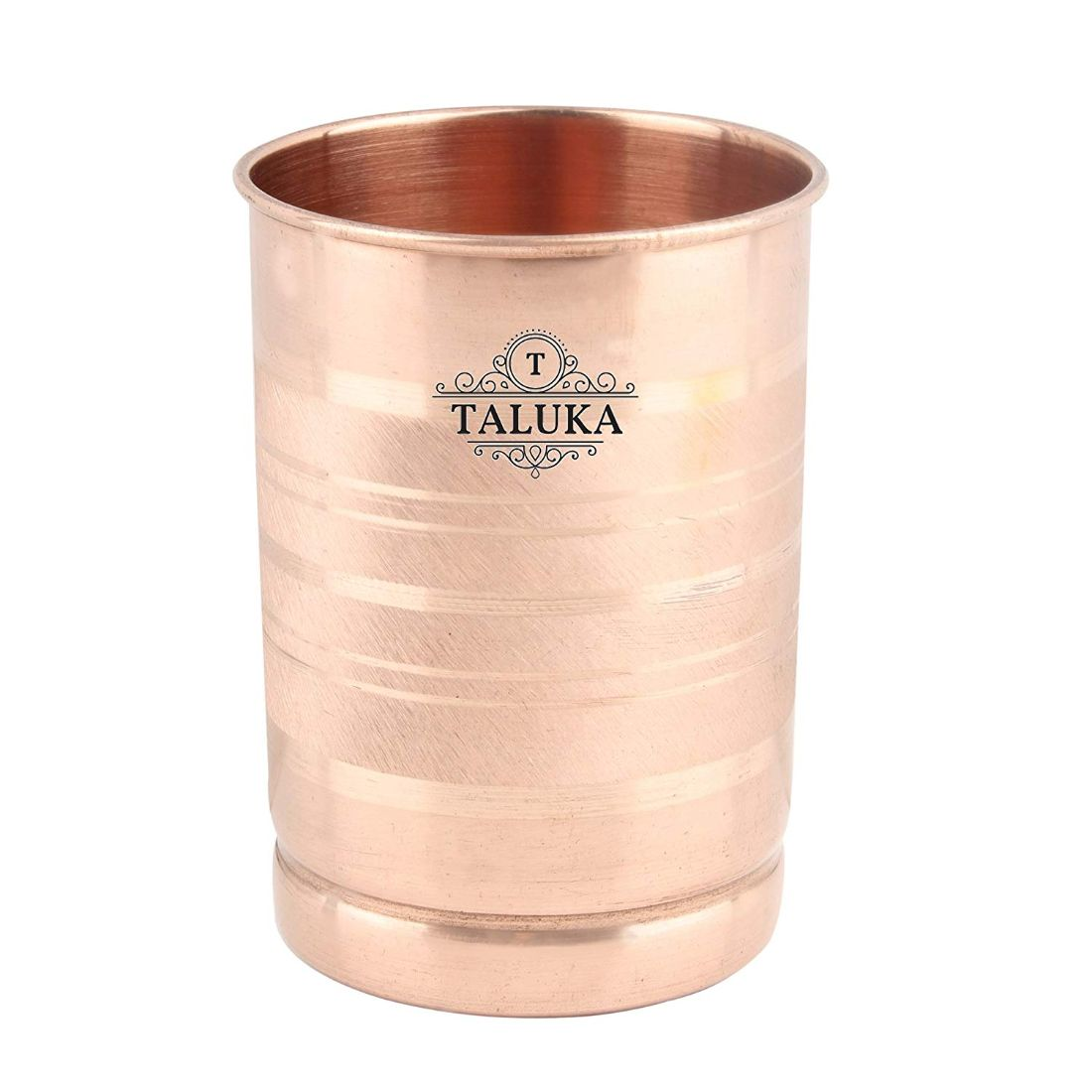 Pure Copper Handmade Water Pot Dispenser 2000 ML with 1 PC Copper Glass 300 ML For Storage Good Health Benefit