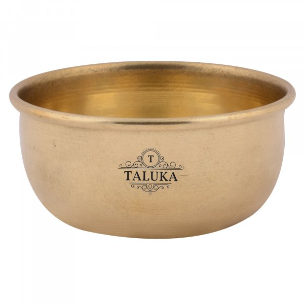 Brass Plain Serving Bowl Katori For Tableware Restaurant Home Hotel 300 ML