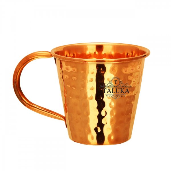 Copper Conical Design Moscow Mule Wine Beer Mug For Bar Ware Restaurant Home