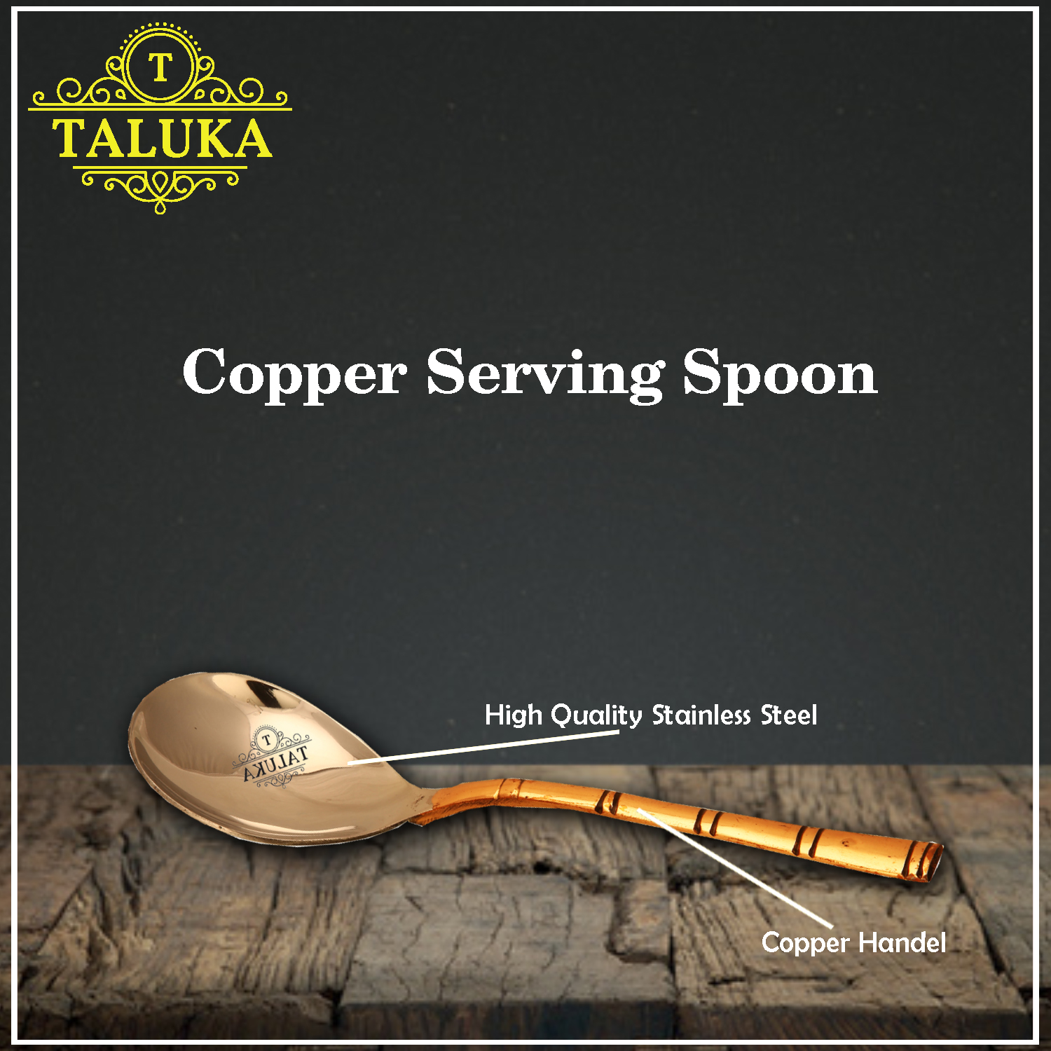 Stainless Steel Serving Spoon for Serving Restaurant Hotel Home