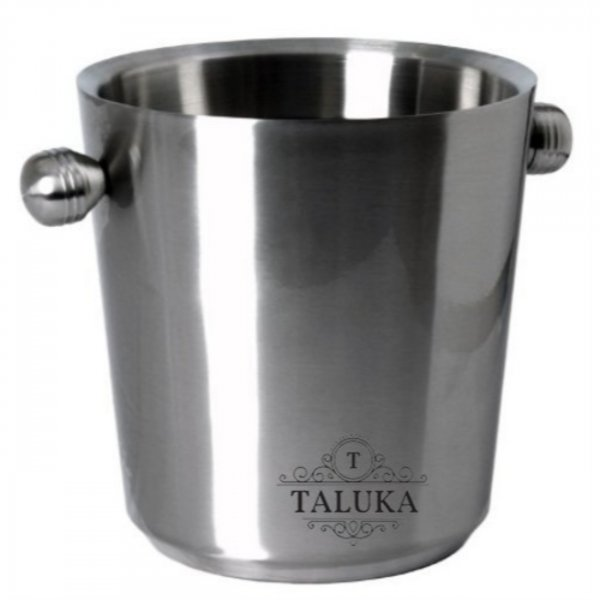 Stainless Steel Double Wall Ice Bucket Champagne bucket 6000 ML Bar Ware