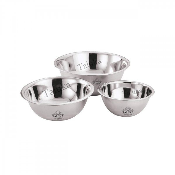 Stainless Steel Mixing Bowls Flat Base
