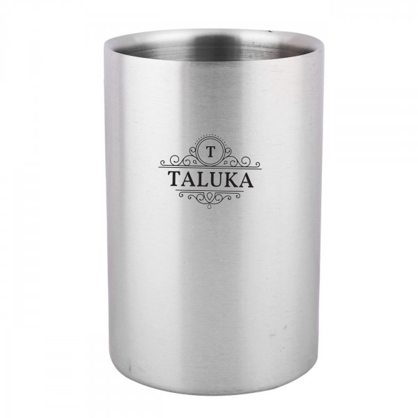Stainless Steel Plain Round Wine Cooler For Bar Ware Restaurant Home Gift Purpose