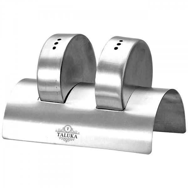 Stainless Steel Spice Salt & Pepper Shaker Rado Designer 2 PC