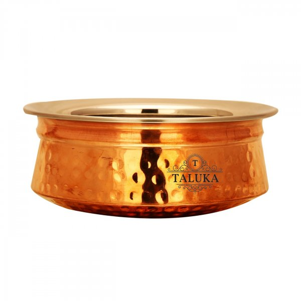 Steel Handmade Quality Pure Copper Handi