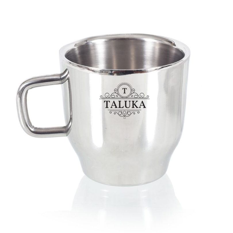 Stainless Steel Mirror Finish Insulated Double Wall Coffee and Tea Mug | Cup | 100 ml Hotel Home Restaurant