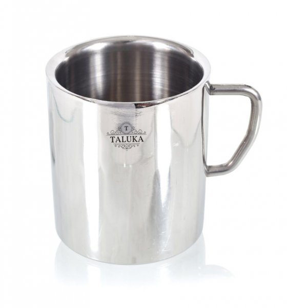 Stainless Steel Insulated Double Wall Coffee and Tea Mug | Cup | Set of 1, 300 ml Hotel Home Restaurant