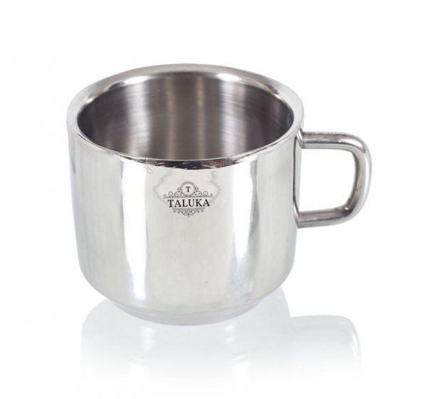 Stainless Steel Mirror Finish Insulated Double Wall Coffee and Tea Mug | Cup | 300 ml Hotel Home Restaurant